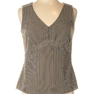 Covington Tops - Covington Sleeveless Striped Blouse Size 6